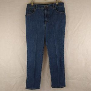 Gloria Vanderbilt Jeans - Gloria Vanderbilt Blue Jeans Petite Size 14P